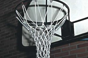 Basketbalová síť Nylon 6 mm 225-02